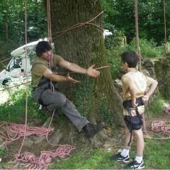 Fête de l'arbre à l'écomusée de St Dégan